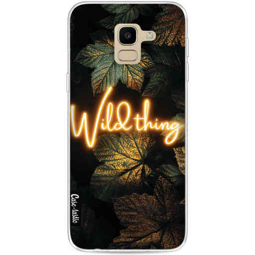 Casetastic Softcover Samsung Galaxy J6 (2018) - Wild Thing