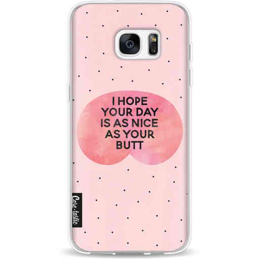 Casetastic Softcover Samsung Galaxy S7 Edge - Nice Butt