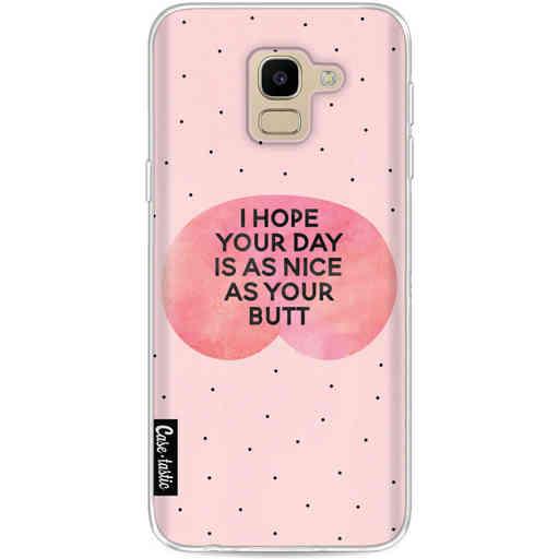 Casetastic Softcover Samsung Galaxy J6 (2018) - Nice Butt