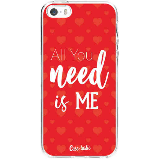Casetastic Softcover Apple iPhone 5 / 5s / SE - All you need is me