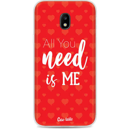 Casetastic Softcover Samsung Galaxy J3 (2017)  - All you need is me