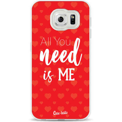 Casetastic Softcover Samsung Galaxy S6 - All you need is me