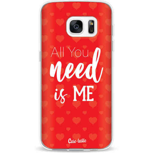 Casetastic Softcover Samsung Galaxy S7 - All you need is me