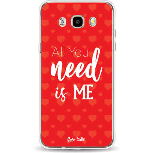 Casetastic Softcover Samsung Galaxy J5 (2016) - All you need is me