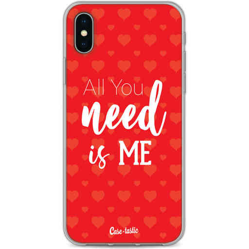 Casetastic Softcover Apple iPhone X / XS - All you need is me