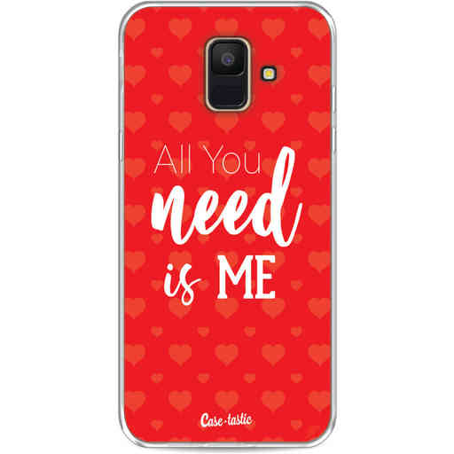 Casetastic Softcover Samsung Galaxy A6 (2018) - All you need is me