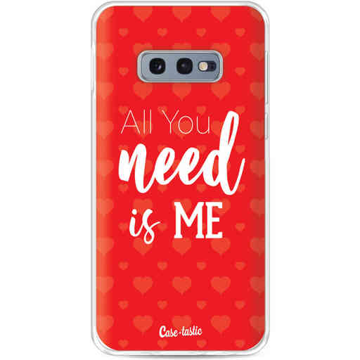 Casetastic Softcover Samsung Galaxy S10e - All you need is me