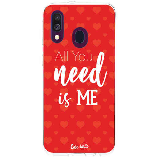 Casetastic Softcover Samsung Galaxy A40 (2019) - All you need is me
