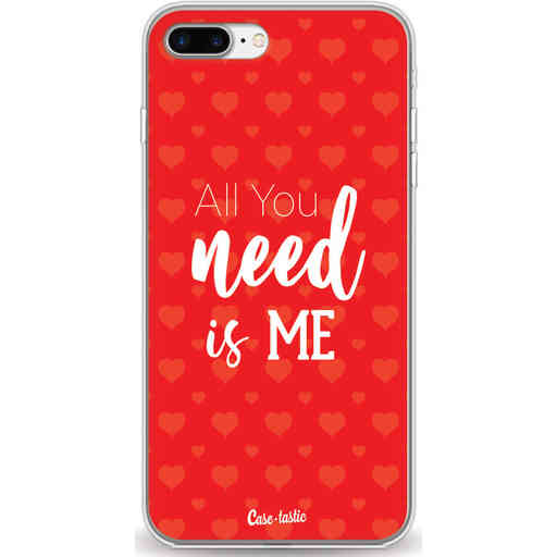 Casetastic Softcover Apple iPhone 7 Plus / 8 Plus - All you need is me