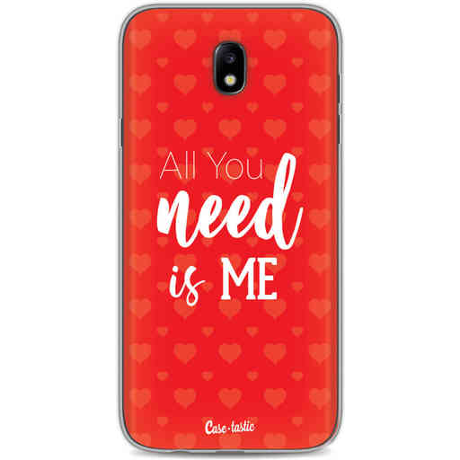 Casetastic Softcover Samsung Galaxy J7 (2017) - All you need is me