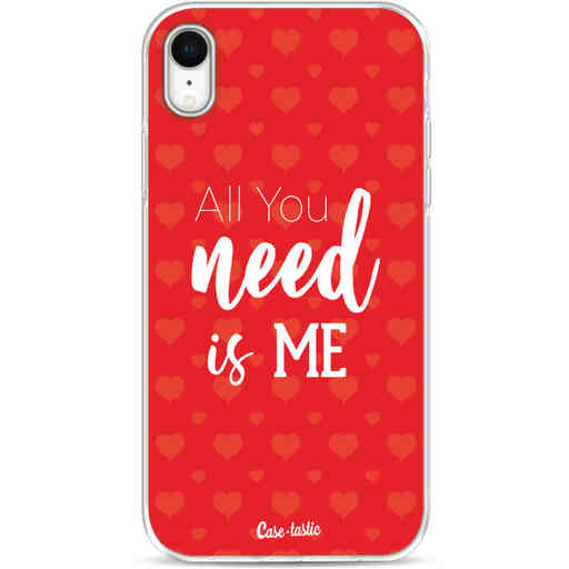 Casetastic Softcover Apple iPhone XR - All you need is me