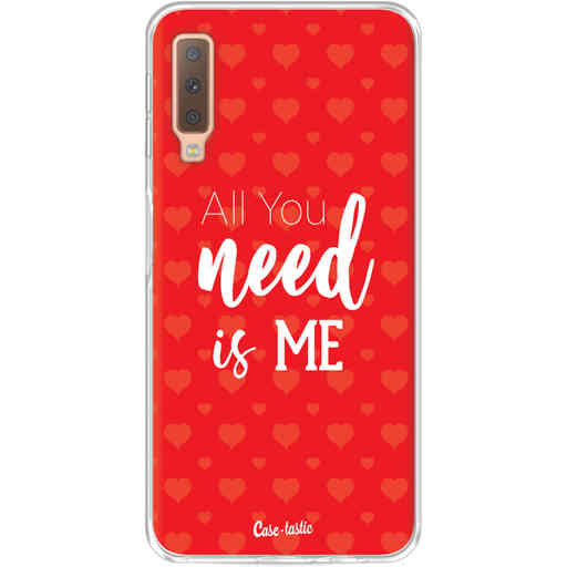 Casetastic Softcover Samsung Galaxy A7 (2018) - All you need is me