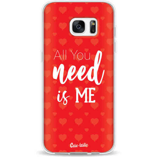 Casetastic Softcover Samsung Galaxy S7 Edge - All you need is me