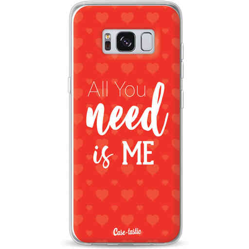 Casetastic Softcover Samsung Galaxy S8 - All you need is me