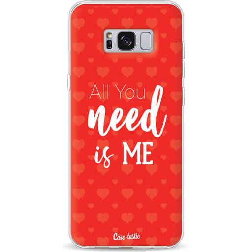 Casetastic Softcover Samsung Galaxy S8 Plus - All you need is me
