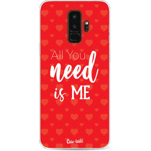 Casetastic Softcover Samsung Galaxy S9 Plus - All you need is me