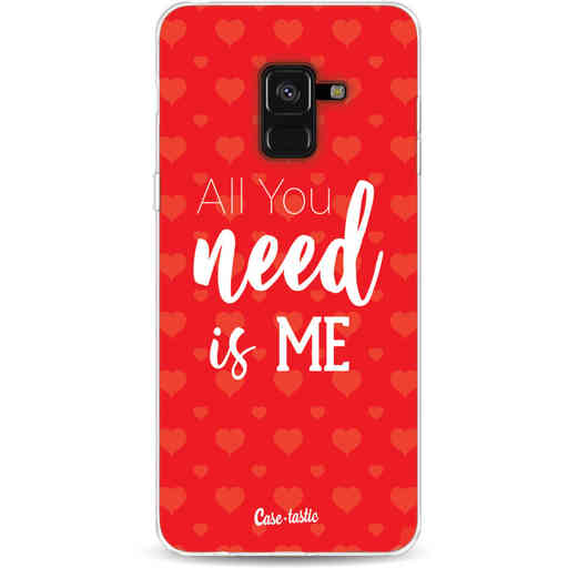 Casetastic Softcover Samsung Galaxy A8 (2018) - All you need is me
