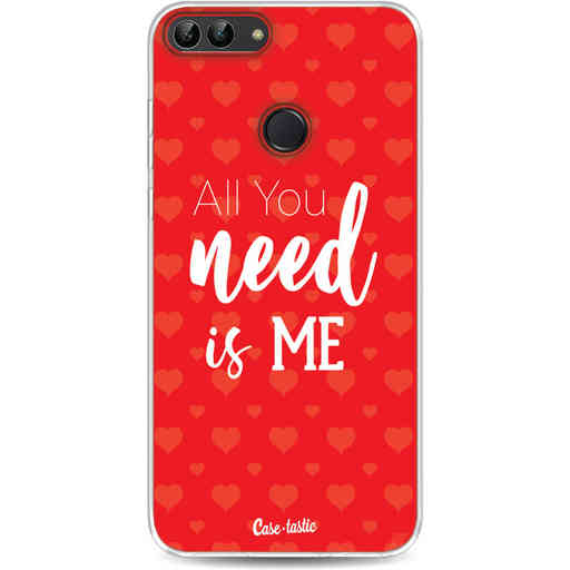 Casetastic Softcover Huawei P Smart - All you need is me
