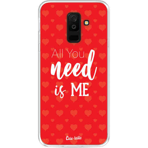 Casetastic Softcover Samsung Galaxy A6 Plus (2018) - All you need is me