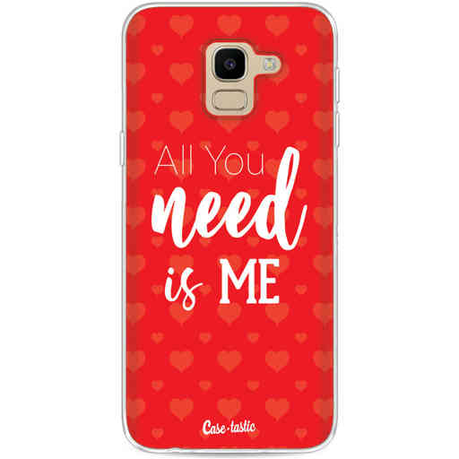 Casetastic Softcover Samsung Galaxy J6 (2018) - All you need is me