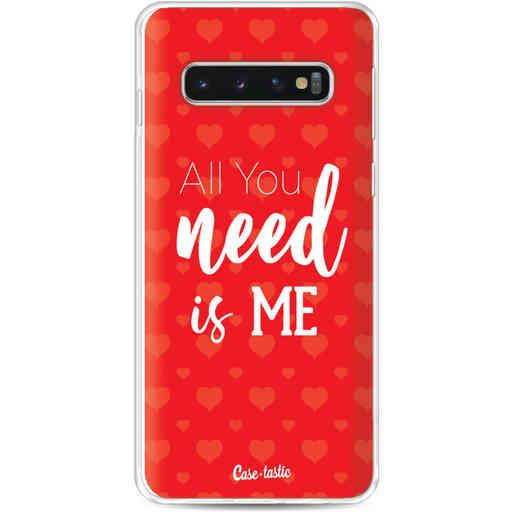 Casetastic Softcover Samsung Galaxy S10 - All you need is me