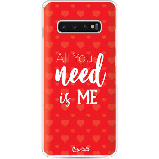 Casetastic Softcover Samsung Galaxy S10 Plus - All you need is me