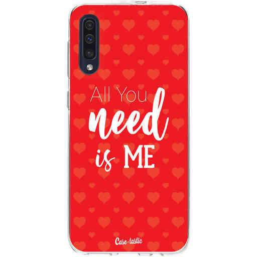 Casetastic Softcover Samsung Galaxy A50 (2019) - All you need is me
