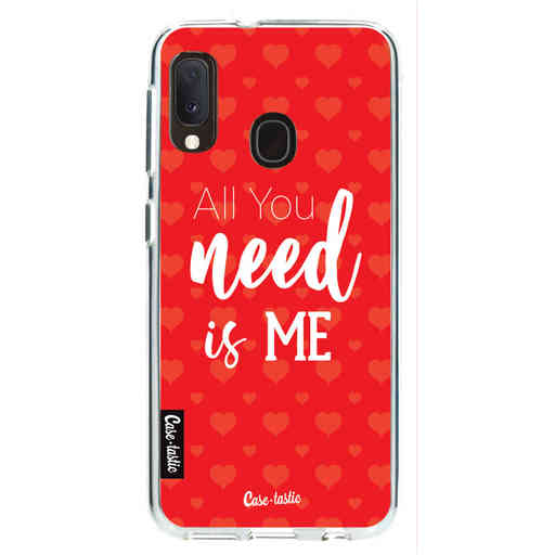 Casetastic Softcover Samsung Galaxy A20e (2019) - All you need is me