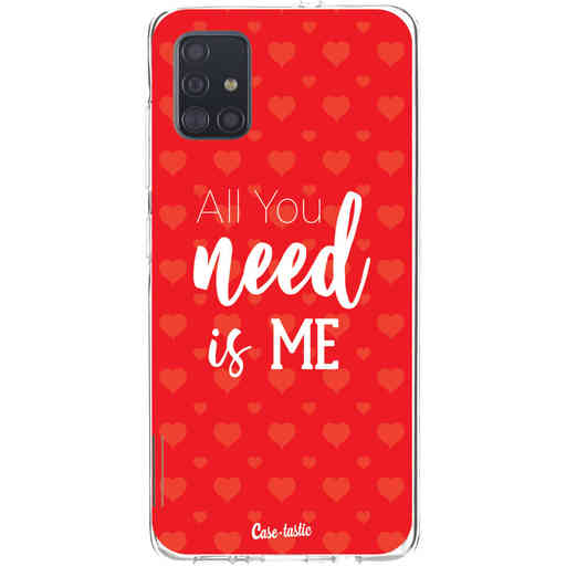 Casetastic Softcover Samsung Galaxy A51 (2020) - All you need is me