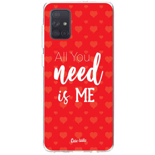 Casetastic Softcover Samsung Galaxy A71 (2020) - All you need is me