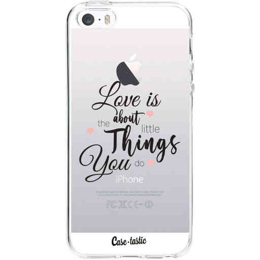 Casetastic Softcover Apple iPhone 5 / 5s / SE - Love is about