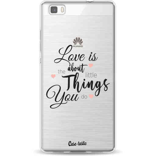 Casetastic Softcover Huawei P8 Lite - Love is about
