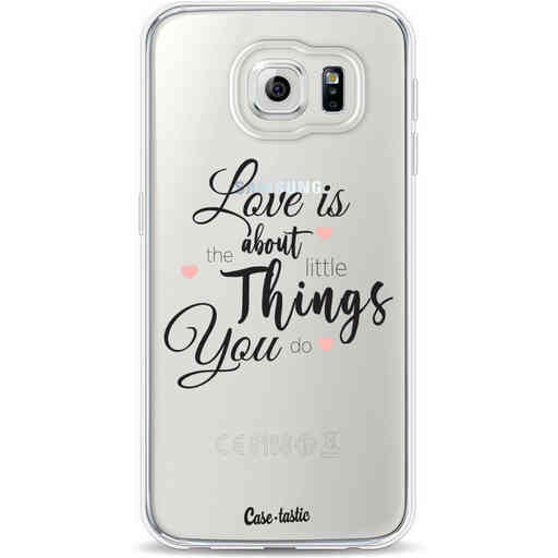Casetastic Softcover Samsung Galaxy S6 - Love is about