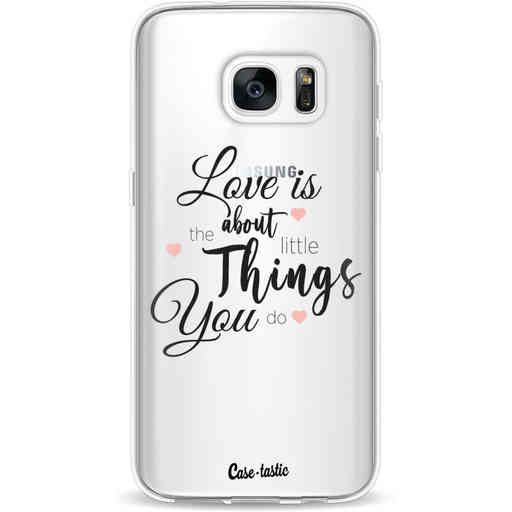 Casetastic Softcover Samsung Galaxy S7 - Love is about