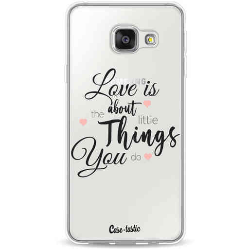 Casetastic Softcover Samsung Galaxy A3 (2016) - Love is about