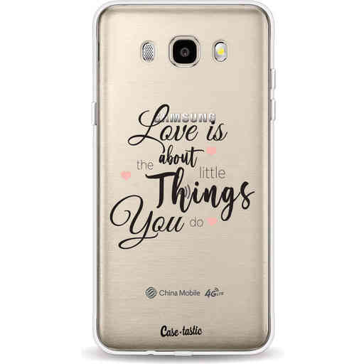 Casetastic Softcover Samsung Galaxy J5 (2016) - Love is about