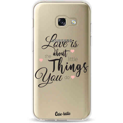 Casetastic Softcover Samsung Galaxy A3 (2017)  - Love is about