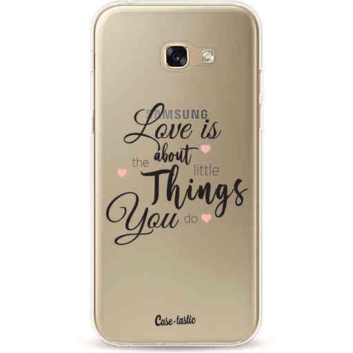 Casetastic Softcover Samsung Galaxy A5 (2017) - Love is about