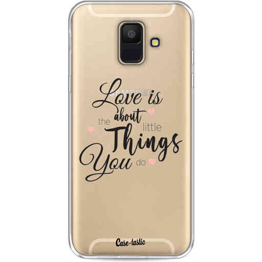 Casetastic Softcover Samsung Galaxy A6 (2018) - Love is about