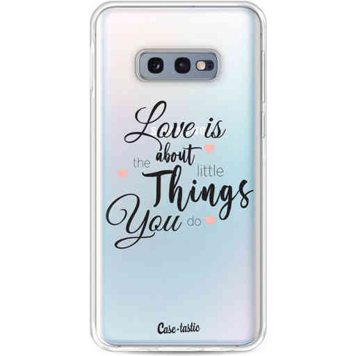Casetastic Softcover Samsung Galaxy S10e - Love is about