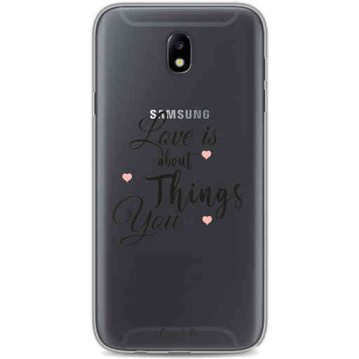 Casetastic Softcover Samsung Galaxy J7 (2017) - Love is about
