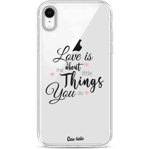 Casetastic Softcover Apple iPhone XR - Love is about
