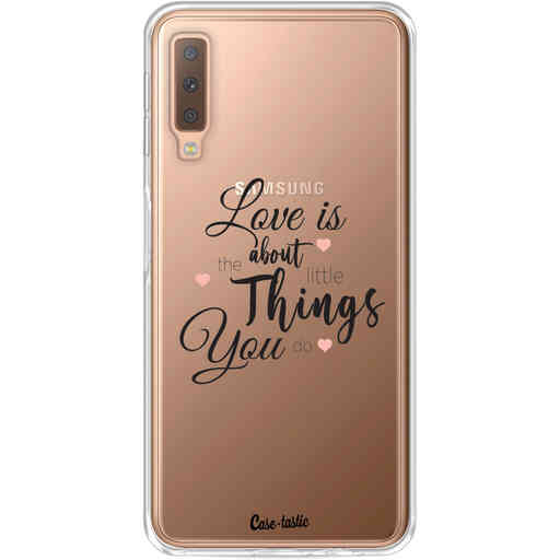 Casetastic Softcover Samsung Galaxy A7 (2018) - Love is about