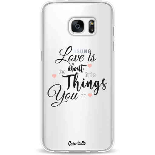 Casetastic Softcover Samsung Galaxy S7 Edge - Love is about
