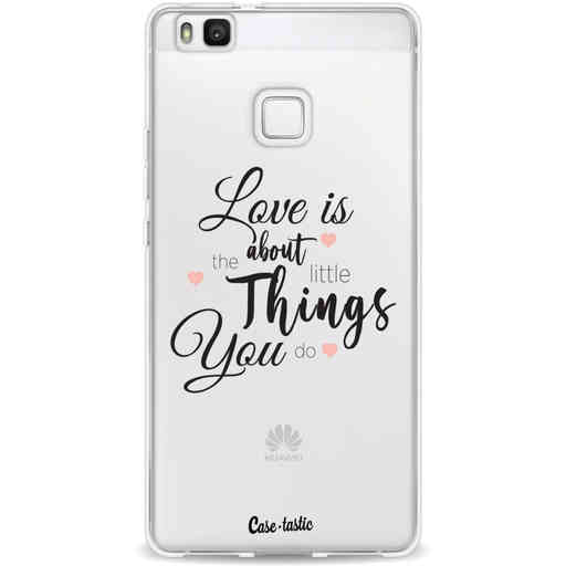 Casetastic Softcover Huawei P9 Lite - Love is about