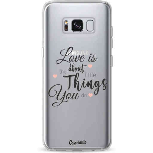 Casetastic Softcover Samsung Galaxy S8 - Love is about