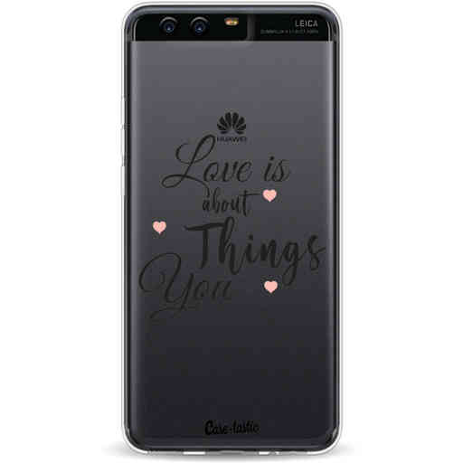 Casetastic Softcover Huawei P10 - Love is about