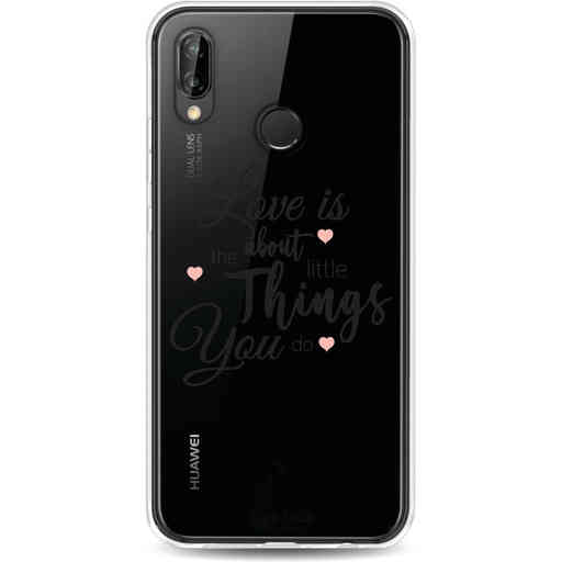 Casetastic Softcover Huawei P20 Lite (2018) - Love is about