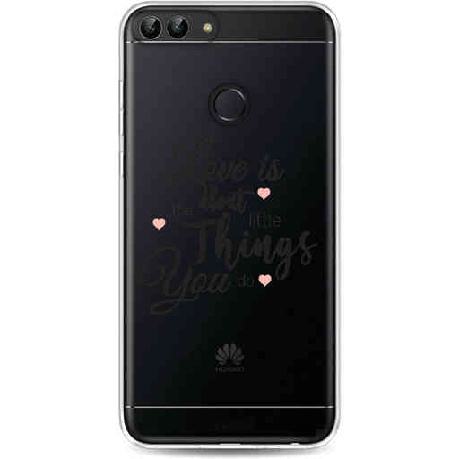 Casetastic Softcover Huawei P Smart - Love is about