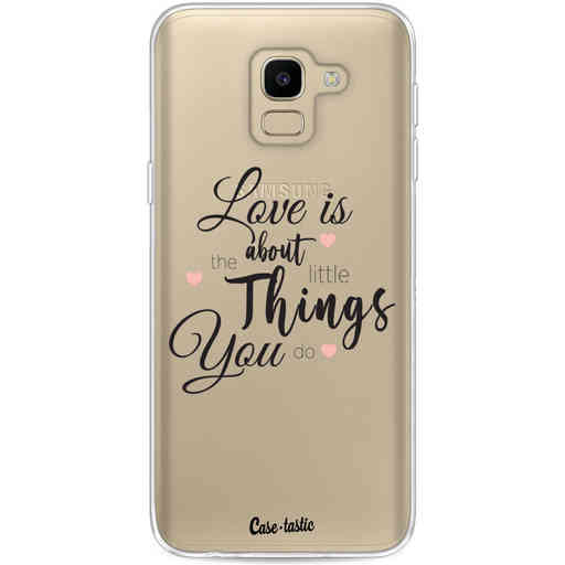 Casetastic Softcover Samsung Galaxy J6 (2018) - Love is about